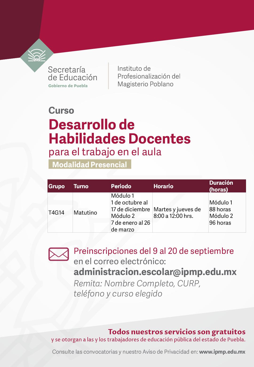 Instituto De Profesionalización Del Magisterio Poblano